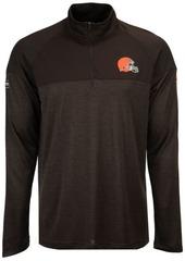 Under Armour Men's Cleveland Browns Twist Tech Quarter-Zip Pullover