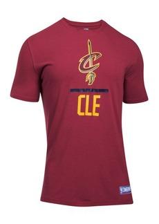 Under Armour Men's Cleveland Cavaliers Lockup T-Shirt