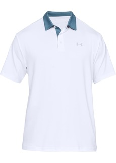 Under Armour Men's Colorblocked Collar Playoff Polo