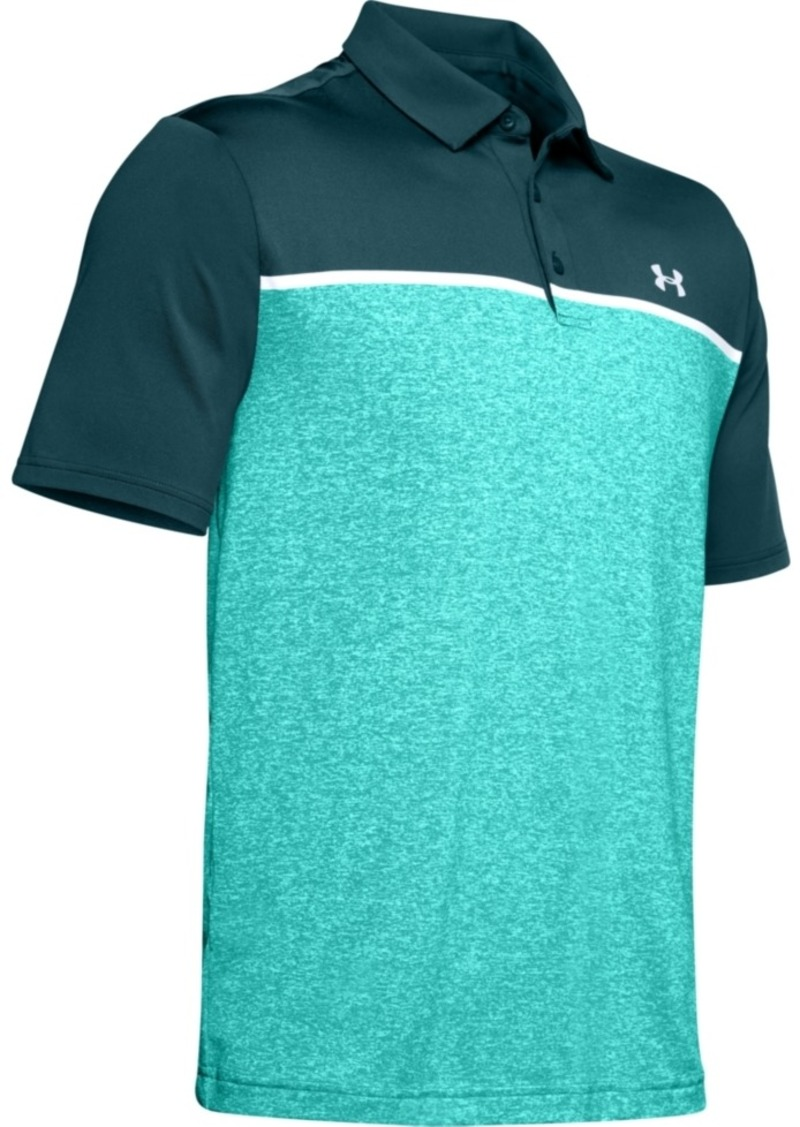Under Armour Men's Colorblocked Playoff Polo