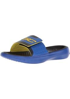Under Armour Boys' Curry 4s Slide Sandal