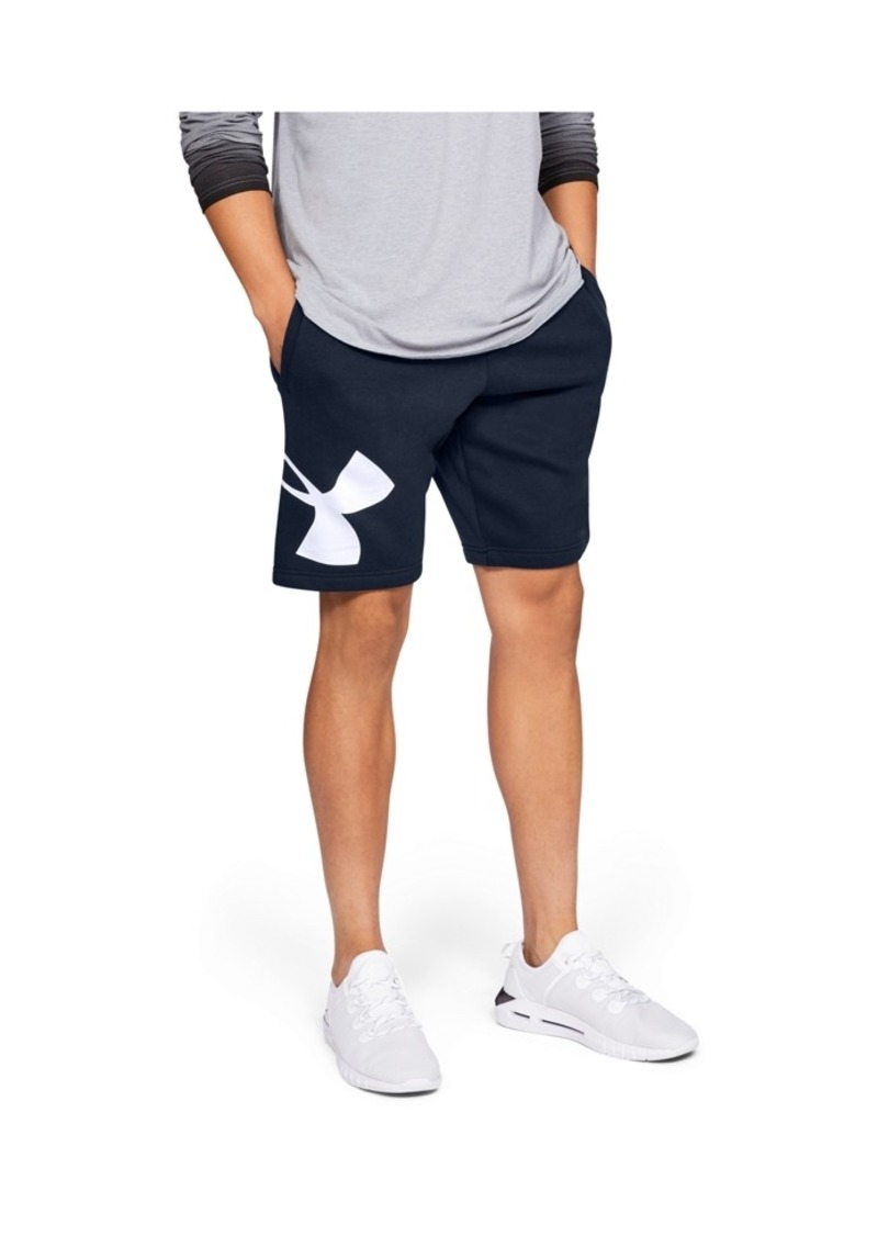 "Under Armour Men's Rival Fleece Logo 10"" Shorts"