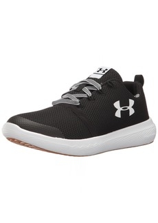 Under Armour Men's Grade School Charged 24/7 Low Vibes Sneaker Black (001)/White
