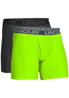 "Under Armour Men's HeatGear 6"" BoxerJock 2-Pack"