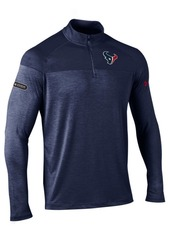 Under Armour Men's Houston Texans Twist Tech Quarter-Zip Pullover