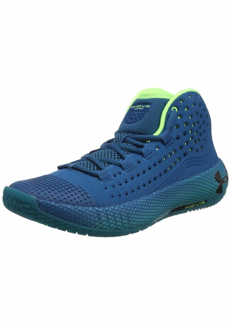 Under Armour Men's HOVR Havoc 2 Basketball Shoe Vibe (404)/Teal Rush