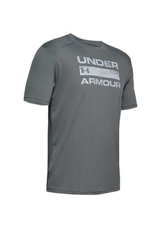 Under Armour Men's ISO-Chill Stacked SS Top