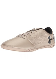 Under Armour Men's Magnetico Select Indoor Soccer Shoe Metallic Faded Gold (00)/Black