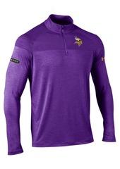 Under Armour Men's Minnesota Vikings Twist Tech Quarter-Zip Pullover