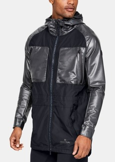 Under Armour Men's Mixed-Media Hooded Parka