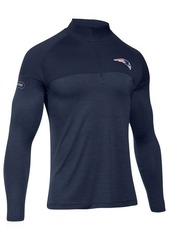 Under Armour Men's New England Patriots Twist Tech Quarter-Zip Pullover