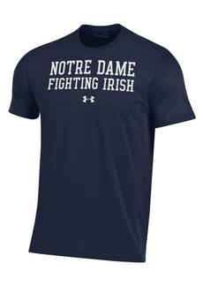 44912027 Under Armour Men's Notre Dame Fighting Irish Performance Cotton T-Shirt