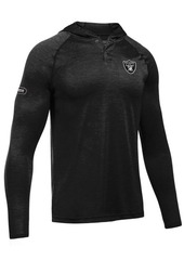 Under Armour Men's Oakland Raiders Tech Hoodie