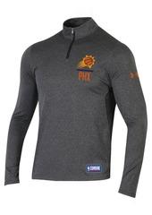 Under Armour Men's Phoenix Suns Combine Authentic Season Quarter-Zip Pullover