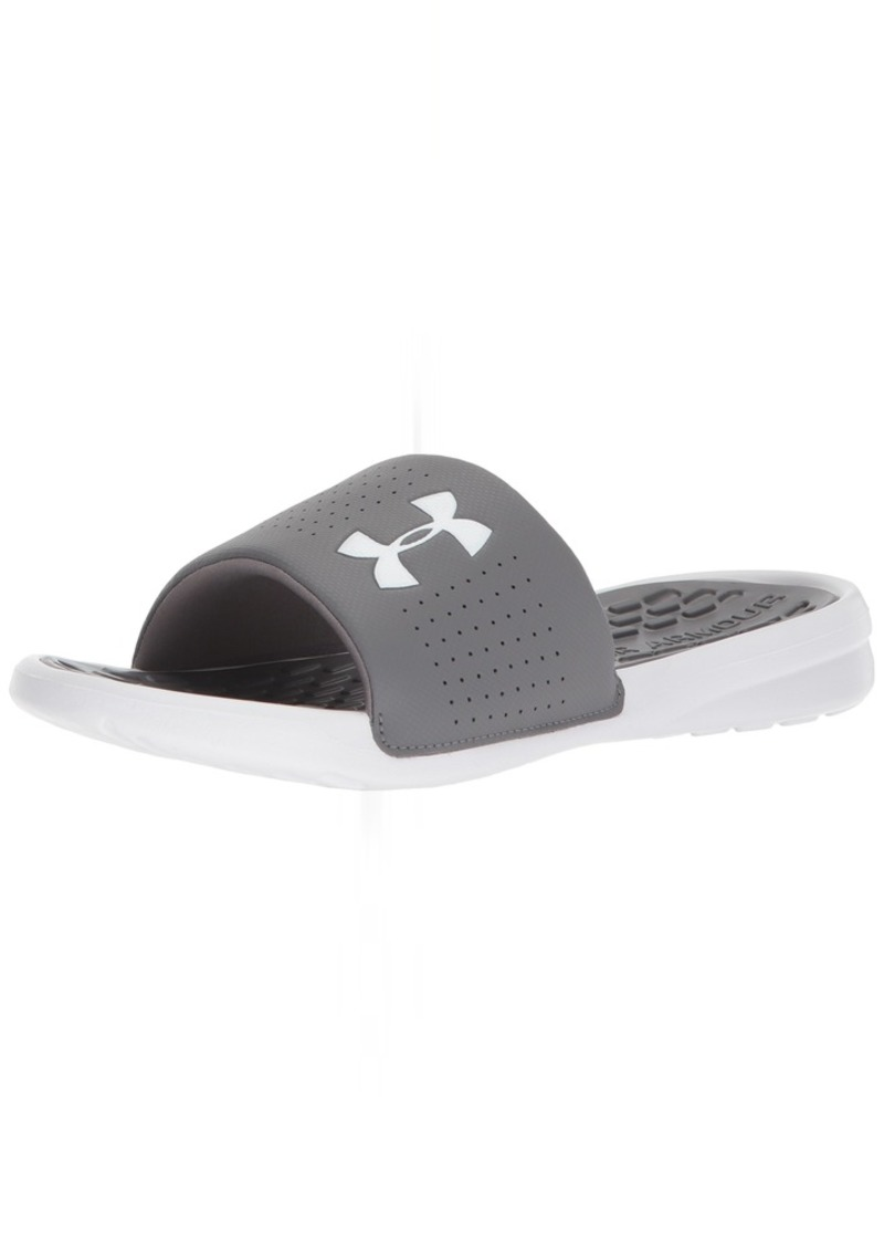 Under Armour Men's Playmaker Fixed Strap Slide Sandal  7