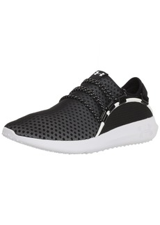 Under Armour Men's RailFit 1 Running Shoe Black (001)/White
