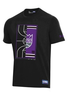 Under Armour Men's Sacramento Kings Banners Begin in the Gym T-Shirt