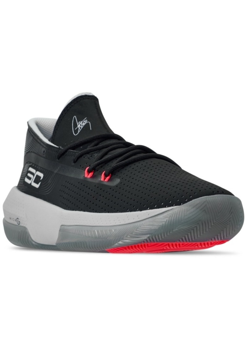 Under Armour Men's Sc 3Zero Iii Basketball Sneakers from Finish Line