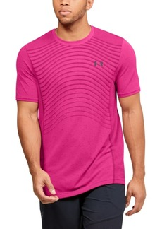 Under Armour Men's Seamless Wave Short Sleeve