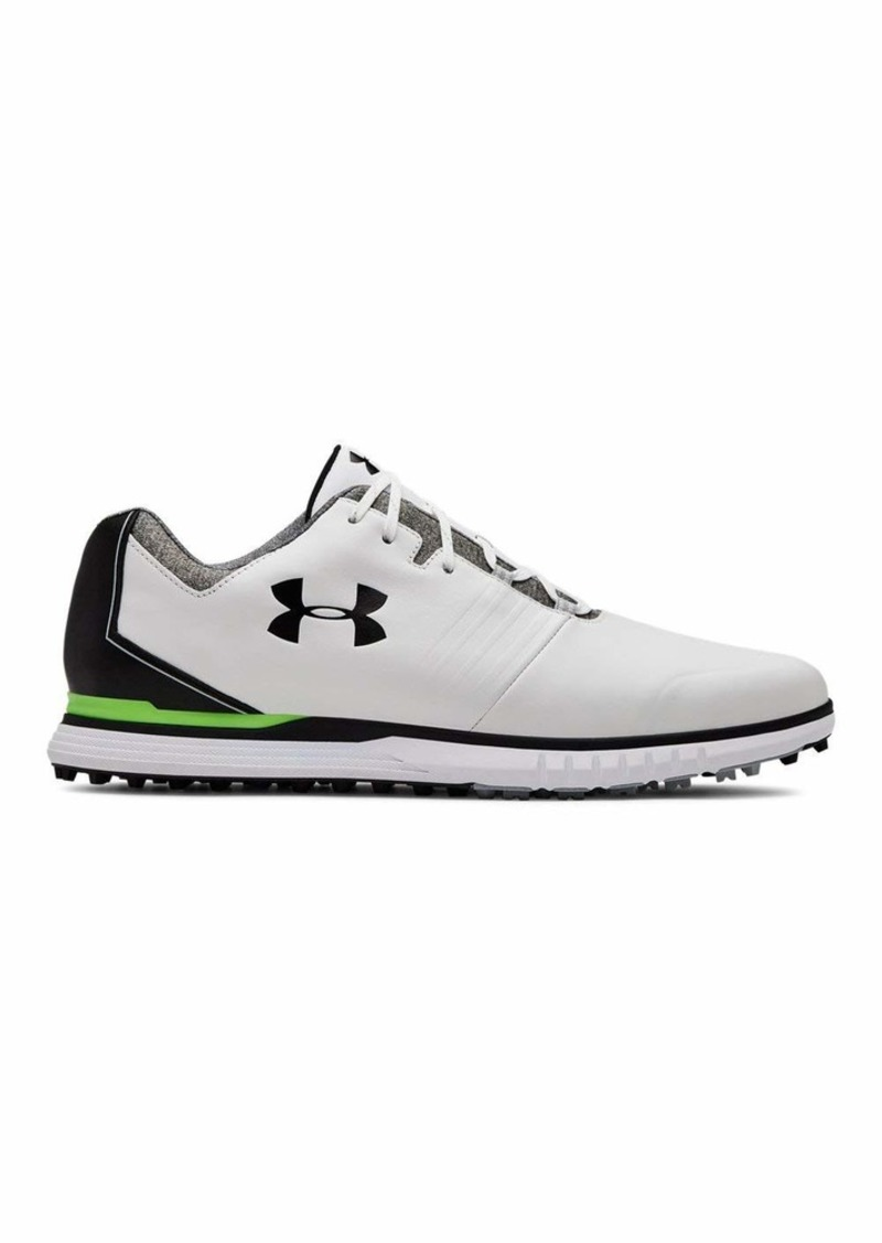 Under Armour Men's Showdown Golf Shoe White (100)/Black  M US