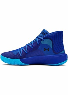 Under Armour Men's Spawn Mid Basketball Shoe (402)/Royal