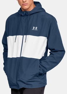 Under Armour Men's Sportstyle Colorblocked Hooded Windbreaker