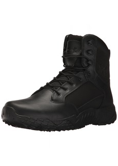 Under Armour mens Stellar Side Zip Military and Tactical Boot Black (001 Black  US