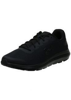 Under Armour mens Surge 2 Running Shoe Black (002 Black  US