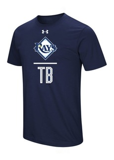 Under Armour Men's Tampa Bay Rays Performance Slash T-Shirt