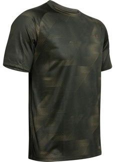 Under Armour Men's Tech Printed Short Sleeve