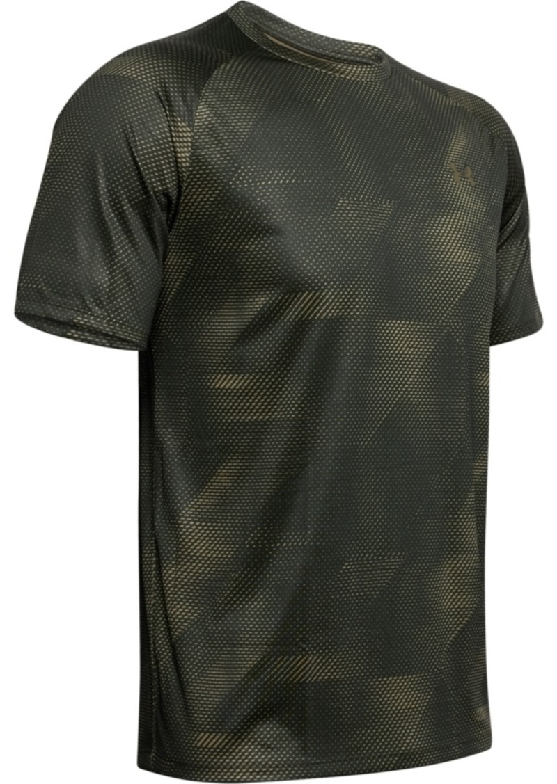 Under Armour Men's Tech Printed Short Sleeve