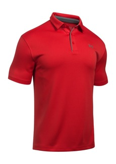 Under Armour Men's Tech Textured-Stripe Polo