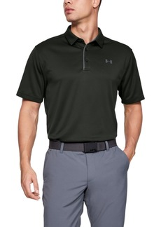 Under Armour Men's Tech Textured-Stripe Polo