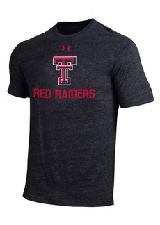 Under Armour Men's Texas Tech Red Raiders Heat Gear Tri-Blend T-Shirt