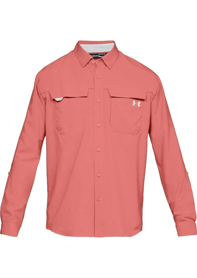 Under Armour Men's Tide Chaser Hybrid LS Woven Top