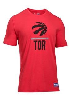 Under Armour Men's Toronto Raptors Lockup T-Shirt