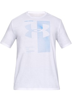 Under Armour Men's Two Tone Big Logo Short Sleeve Shirt