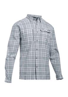 Under Armour Men's UA Fish Hunter LS Plaid Shirt