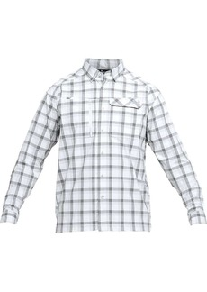 Under Armour Men's UA Fish Hunter LS Plaid Shirt