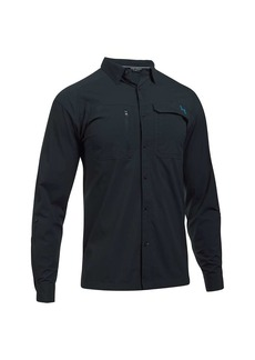 Under Armour Men's UA Fish Hunter LS Solid Shirt