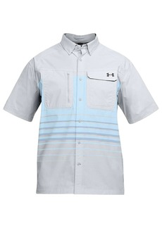 Under Armour Men's UA Fish Hunter SS Plaid Shirt