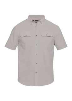 Under Armour Men's UA Threadborne Grit Woven SS Shirt