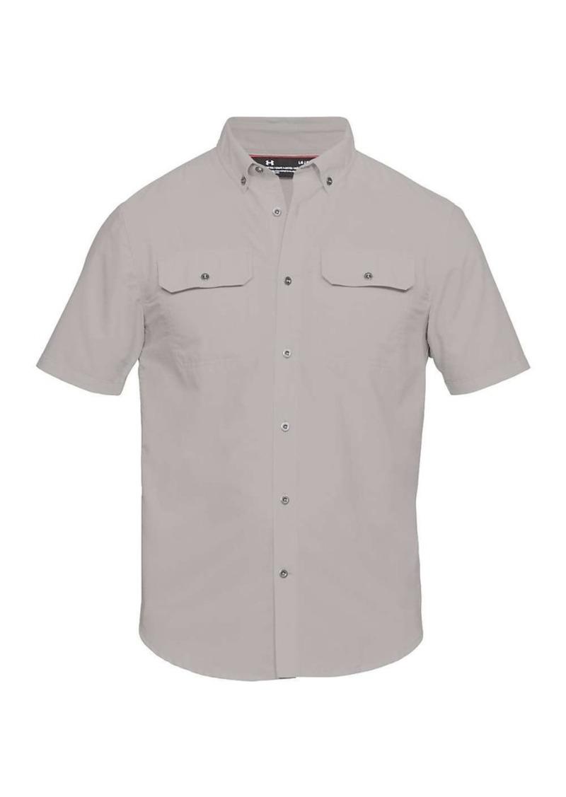 Under Armour Men's UA Threadborne Grit Woven SS Shirt