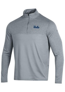 Under Armour Men's Ucla Bruins Scratch Mock Quarter-Zip Pullover