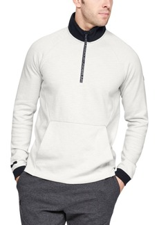 Under Armour Men's Unstoppable Double Knit ½ Zip