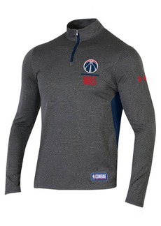 Under Armour Men's Washington Wizards Combine Authentic Season Quarter-Zip Pullover