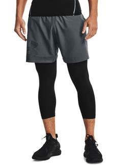 "Under Armour Men's Woven Active 8"" Shorts"