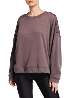 Under Armour Mesh Around Oversized Crew Top