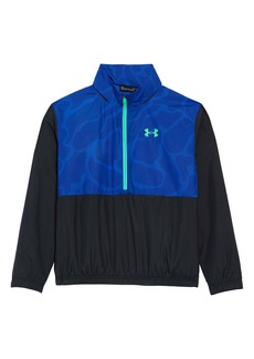 Under Armour Mesh Lined Hooded Pullover (Big Boy)