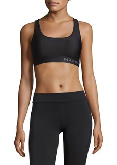 Under Armour Mid-Crossback Sports Bra